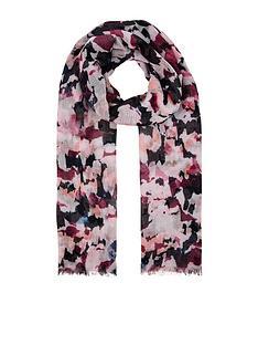 accessorize-petal-power-print-scarf-multi