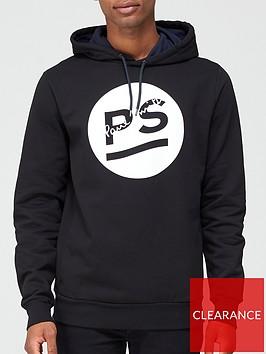 ps-paul-smith-circle-logo-print-overhead-hoodie-black