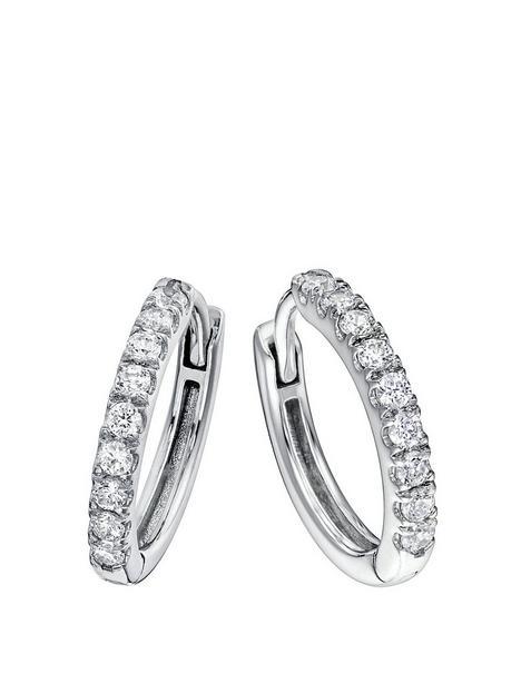 created-brilliance-julia-created-brilliance-9ct-white-gold-032ct-lab-grown-diamond-hoop-earrings