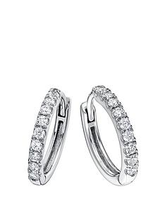 created-brilliance-julia-created-brilliance-9ct-white-gold-032ct-lab-grown-diamond-hoop-earrings