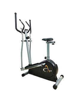V-Fit Magnetic 2In1 Cycle Elliptical Trainer