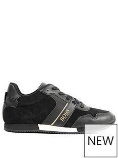 boss-boys-classic-logo-trainer-black