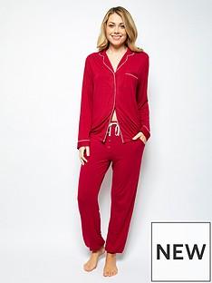cyberjammies-megannbspknit-pyjamasnbspset-red