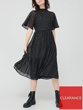 v-by-very-metallic-spot-midi-dress-spot