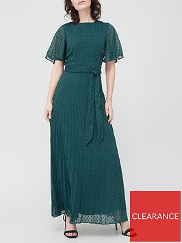 v-by-very-pleated-maxinbspdress-teal