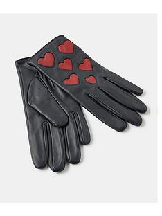 accessorize-love-heart-leather-gloves-black