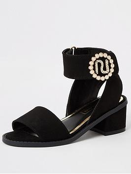 river-island-girls-block-heeled-sandal--black