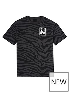 money-boys-zebra-hallmark-short-sleeve-t-shirt-black