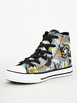 converse-x-scooby-doo-chuck-taylor-all-star-childrens-hi-trainers-blackwhite