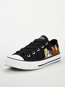 converse-x-scooby-doo-chuck-taylor-all-star-childrens-low-trainers-black-multi