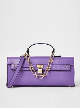 river-island-chain-detail-fashion-crossbody-bag-purple