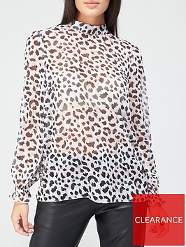 v-by-very-high-neck-lurex-printed-blouse-animal