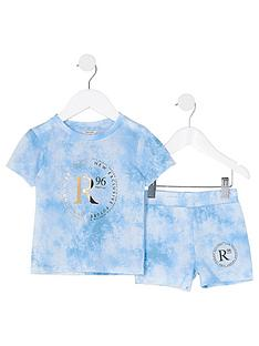 river-island-mini-boys-tie-dye-t-shirt-and-short-set--nbspblue