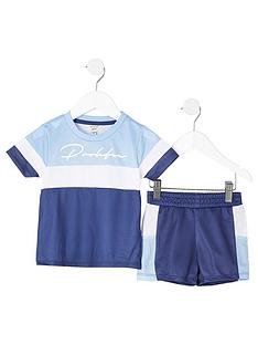 river-island-mini-boys-prolific-t-shirt-and-shorts-set--nbspblue