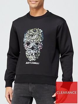 just-cavalli-sequinednbspskull-sweatshirt-blacknbsp