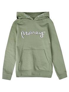 money-boys-chrome-ape-overhead-hoodie-green