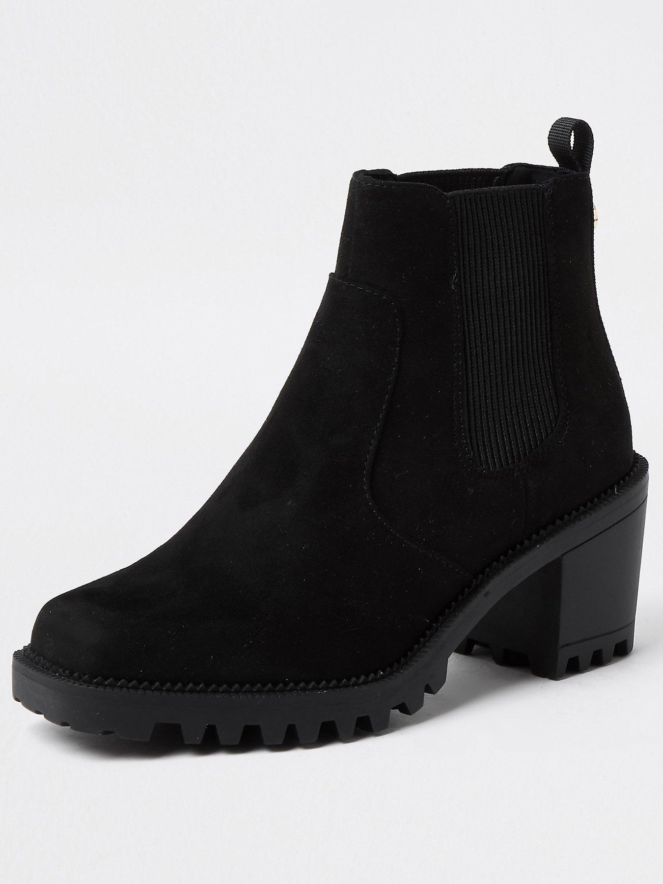 Black   River island   Shoes \u0026 boots
