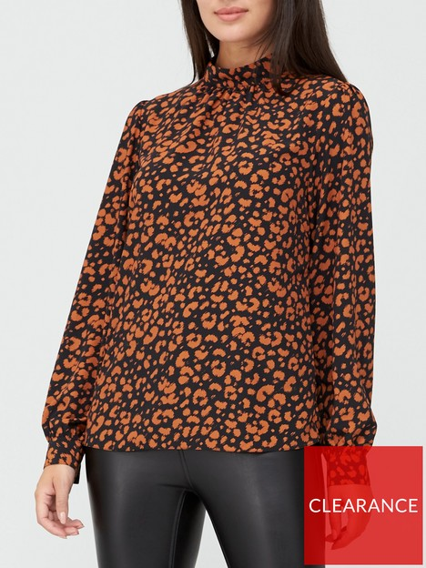 v-by-very-high-neck-printed-shell-top-animal