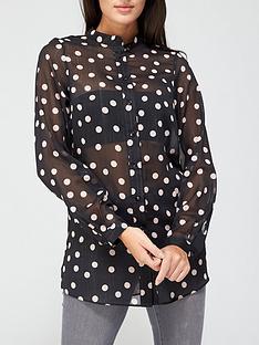 v-by-very-longline-lurex-printed-shirt-black