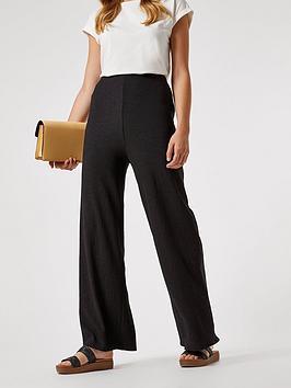 dorothy perkins fauchette trousers - black