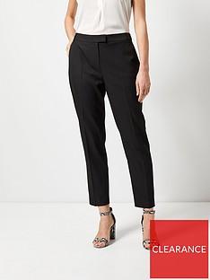 dorothy-perkins-regular-pique-trousers-black