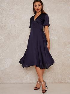 chi-chi-london-october-fit-and-flare-midi-dress-navy