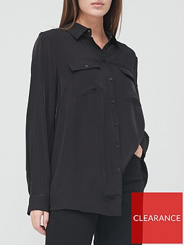 v-by-very-premium-utility-shirt--black