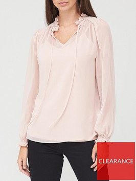 v-by-very-tie-necknbspblouse-blush