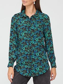 v-by-very-printed-longline-shirt-green-print