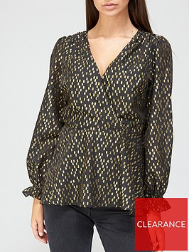 v-by-very-wrap-lurex-top-gold
