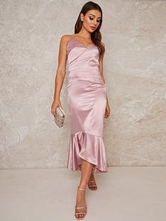 chi-chi-london-minka-stretch-satin-dress-mink