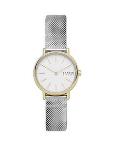 skagen-signatur-white-dial-stainless-steel-watch