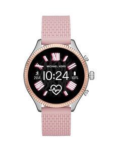 michael-kors-lexington-pink-strap-watch