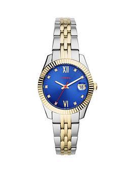 fossil-scarlette-mini-blue-dial-two-tone-bracelet-watch