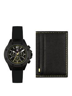tikkers-tikkersnbspblack-wallet-andnbspkids-watch-gift-set