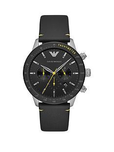 emporio-armani-mario-black-chronograph-dialnbspblack-silicone-strap-watch
