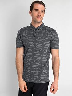 calvin-klein-golf-aztec-polo-shirt-charcoal