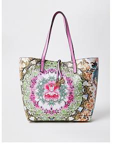 river-island-printednbspshopper-bag-pink