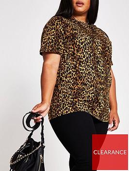 ri-plus-short-sleevenbspturnback-sleeve-branded-t-shirt-leopard-print