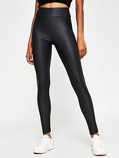 river-island-high-waist-coated-matte-leggings-black-black