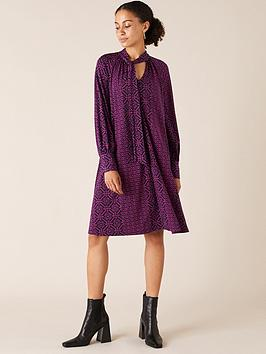 monsoon-monsoon-geo-printed-short-sustainable-dress