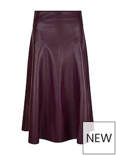 monsoon-recycled-pu-midi-skirt