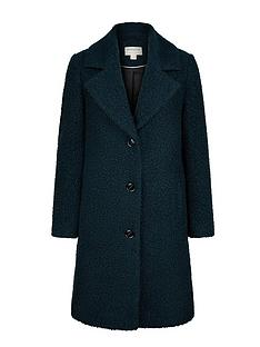 monsoon-bella-boucle-long-coat-teal