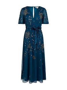 monsoon-roza-embellished-midi-dress-teal