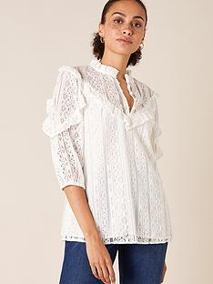 monsoon-lace-ruffle-detail-top-ivory