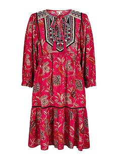 monsoon-paisley-print-sustainable-dress-pink