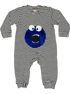 wauw-capow-by-bang-bang-copenhagen-baby-little-monster-stripe-romper-white