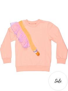 wauw-capow-by-bang-bang-copenhagen-girls-dreamy-applique-crew-sweatshirt-pink