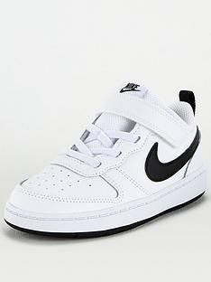 nike-infants-court-borough-low-2-trainers-white