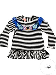 wauw-capow-by-bang-bang-copenhagen-girls-elly-birdie-stripe-t-shirt-blackwhite